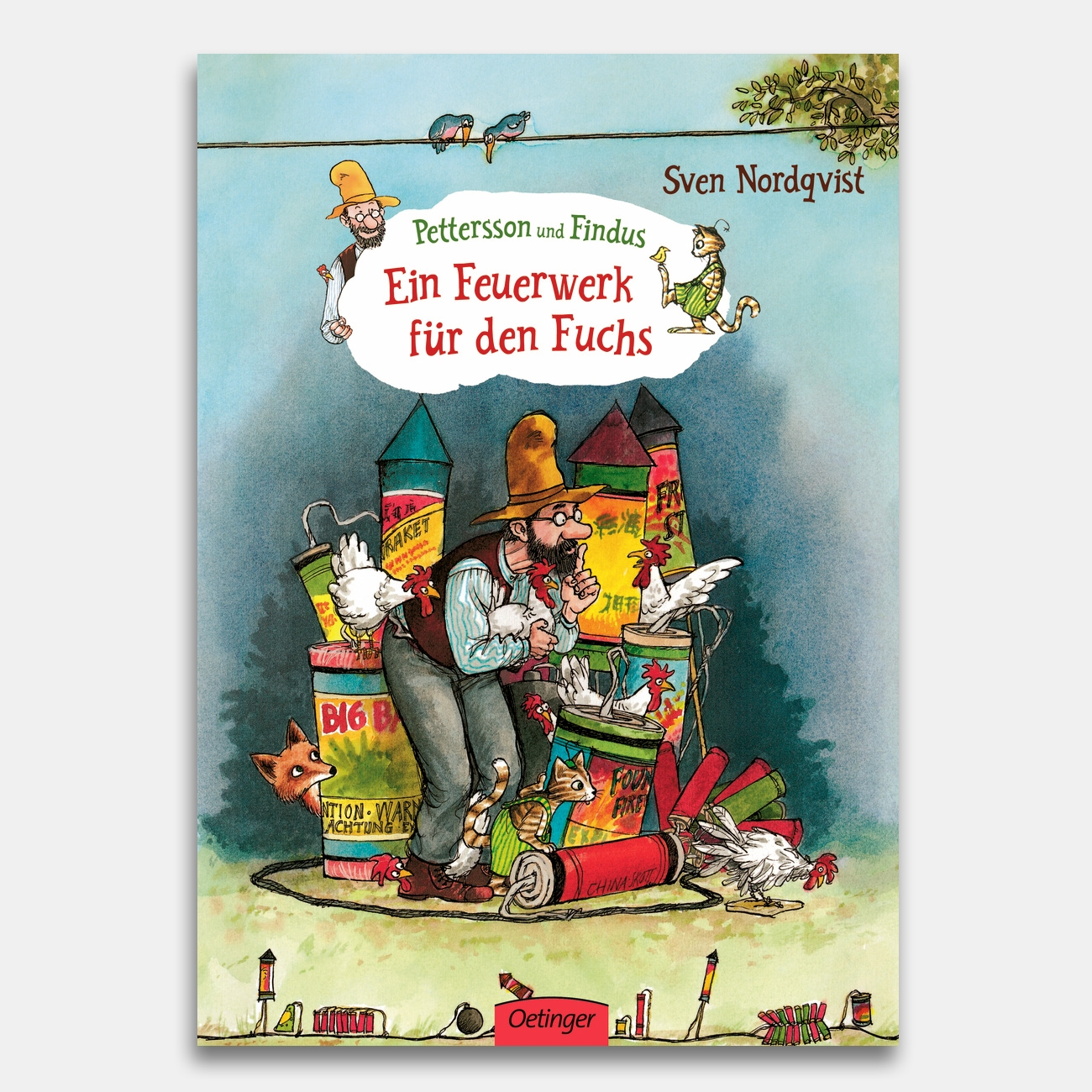 ein feuerwerk f r den fuchs kinderbuch vom oetinger. Black Bedroom Furniture Sets. Home Design Ideas